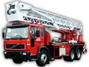 Пеноподъемник пожарный ППП-37 Volvo FL-6